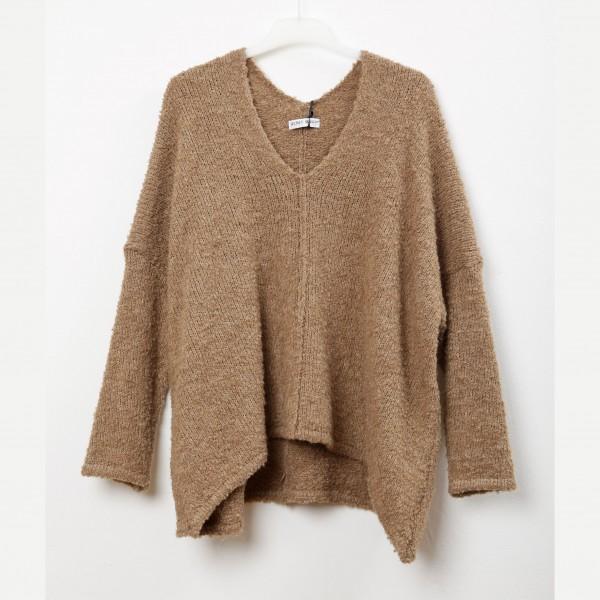 Pullover Oversized beige