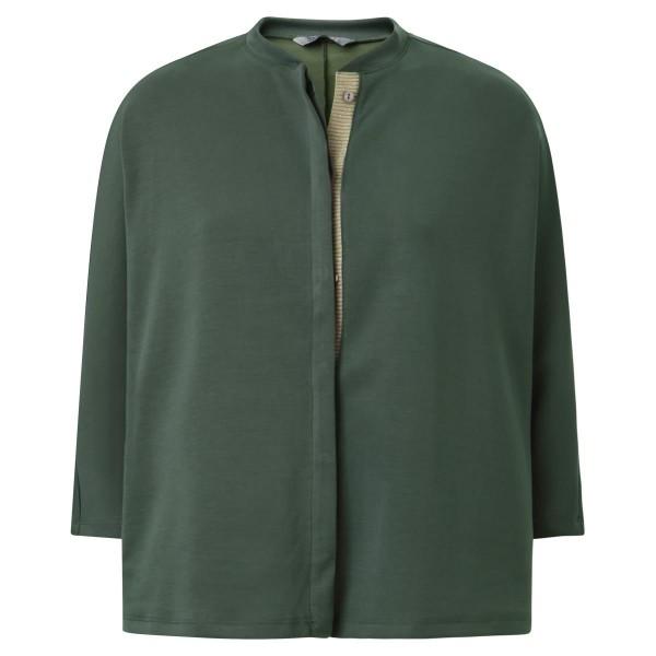 Oversized Jacke mit Strickeinsatz