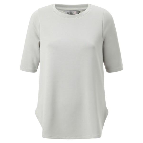 Basic Shirt Rundhals grau kurzarm