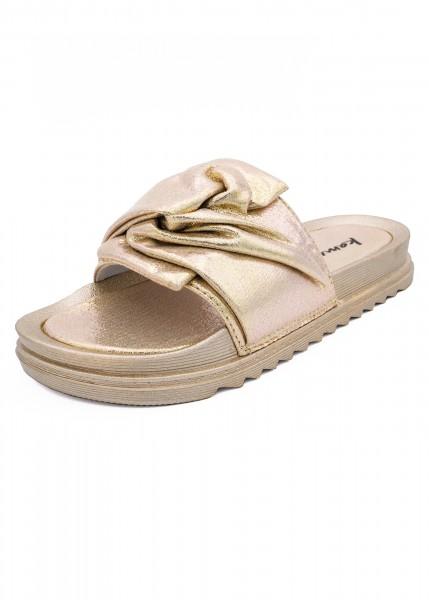 Sandale Dunja gold metallic