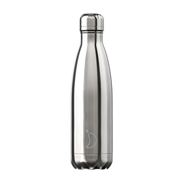 Trinkflasche Silber 500ml