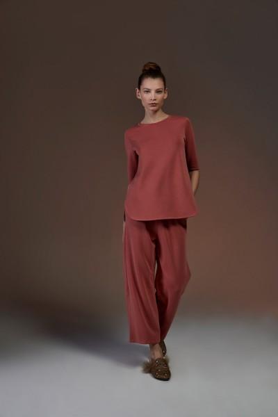 Shirt A-Linie verlängerter Halbarm chilly