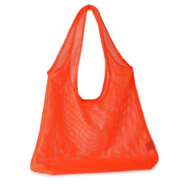 Netz-Tasche Angie Orange
