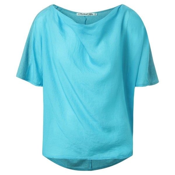 Shirt kurz Arm Front Seide