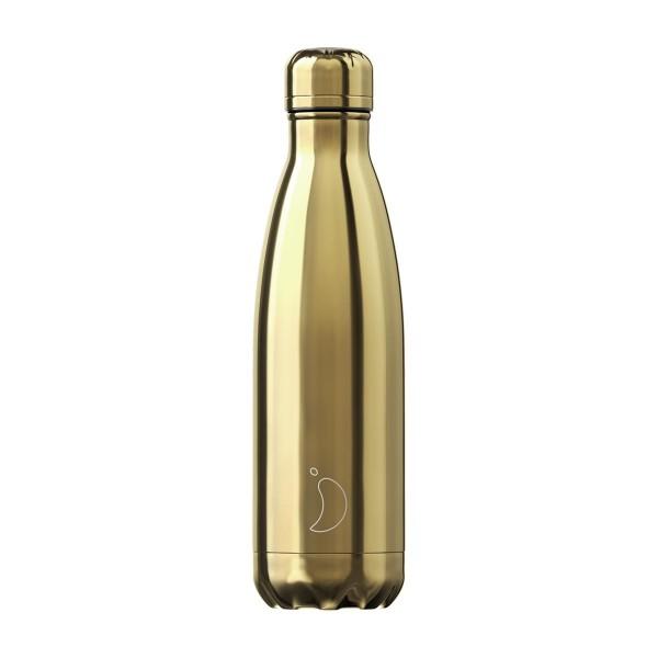 Trinkflasche Gold 500ml