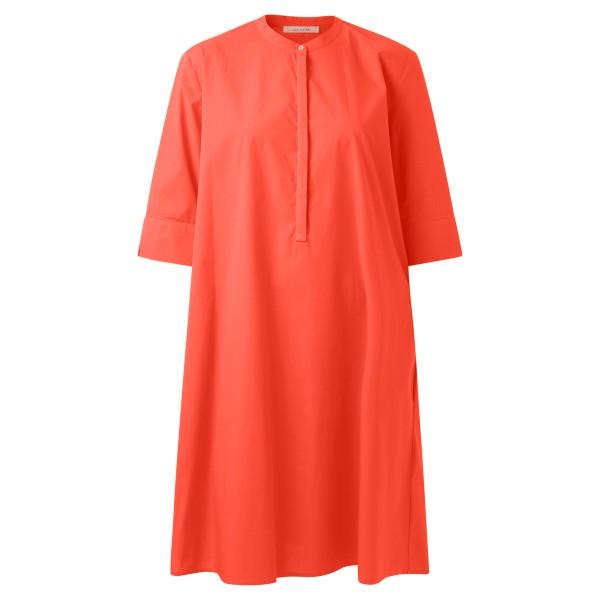 Blusenkleid rot A-Linie