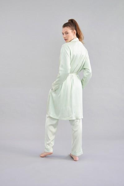 klassisch zum binden geschnitten - Kimono green