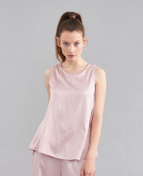 Bettgeschichten Pyjama Shirt Rosé