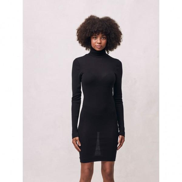 Unterkleid Marisol Rollkragen black