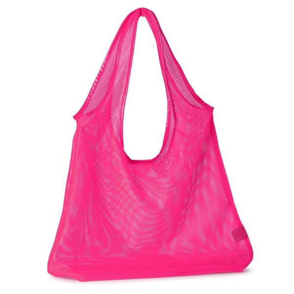 Netz-Tasche Angie Pink