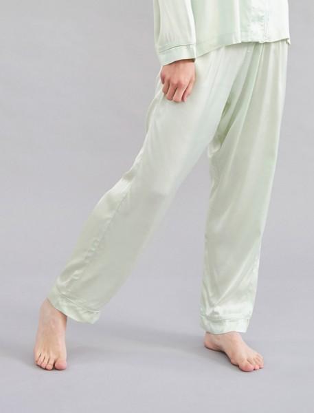 Bettgeschichten Pyjama Hose Grün