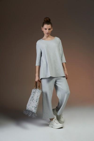 Shirt 135 A-Linie Halbarm grey