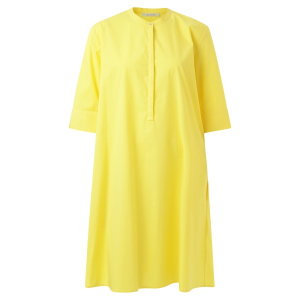 Blusenkleid gelb A-Linie