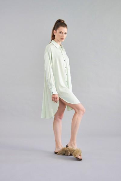 Longbluse green