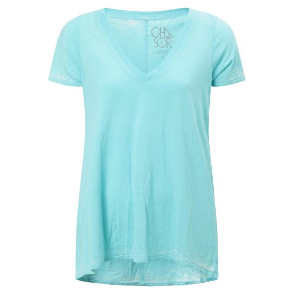 T-Shirt V-Neck mint