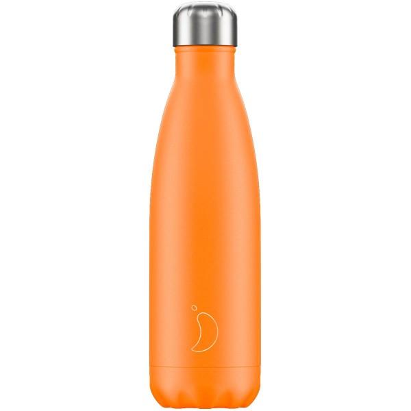 Trinkflaschen Neonorange 500ml