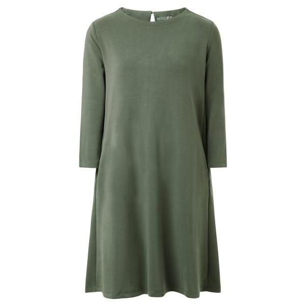 Kleid-grün- A-Linie