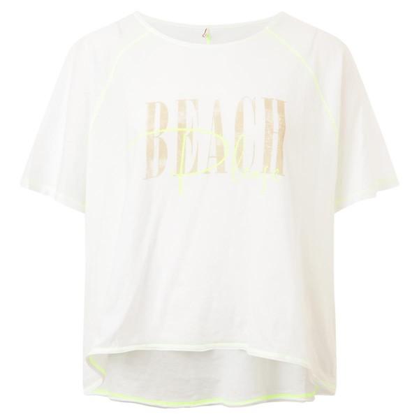 T-Shirt - weiß - Oversize