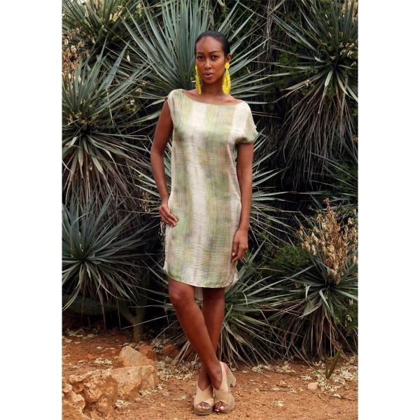 Kleid gemustert