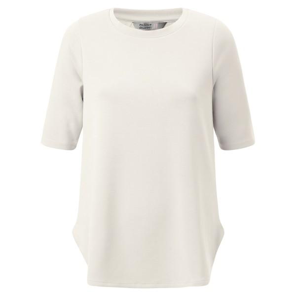 Basic Shirt Rundkragen - offwhite