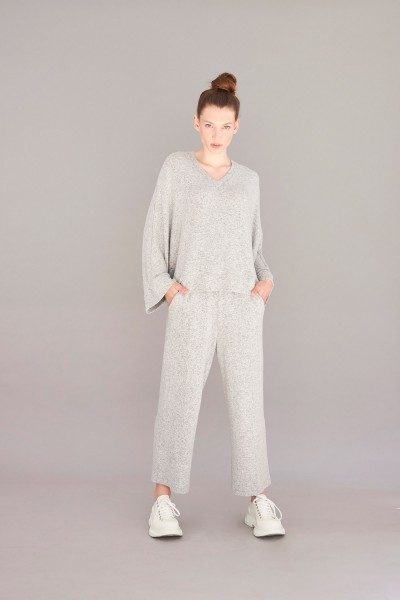 Shirt Cashmere touch grey
