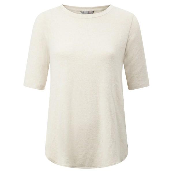 Shirt Strick beige 1/2 Arm
