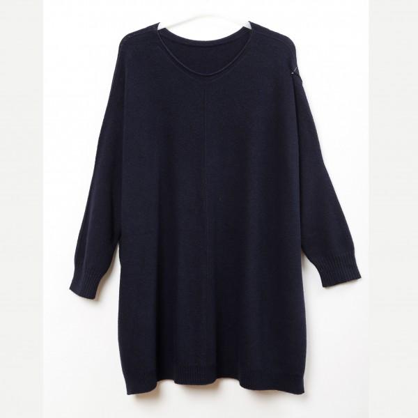 Oversized Pullover marine