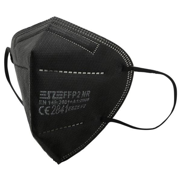 FFP2 Mund- und Nasenschutz Masken CE 2841 black