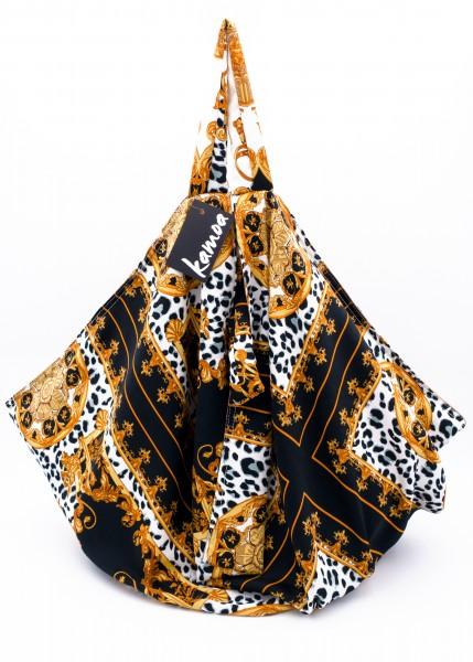 Shopper Rajnika schwarz-gelb