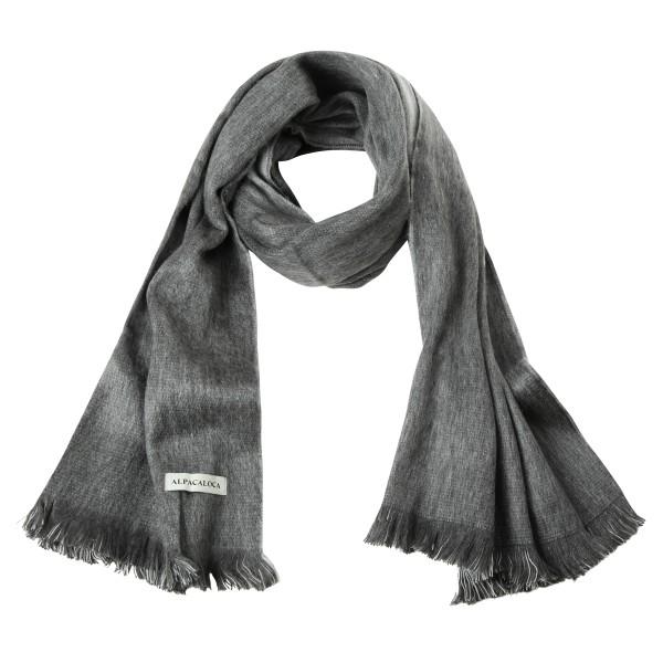 Schal Double Light Grey & Dark grey