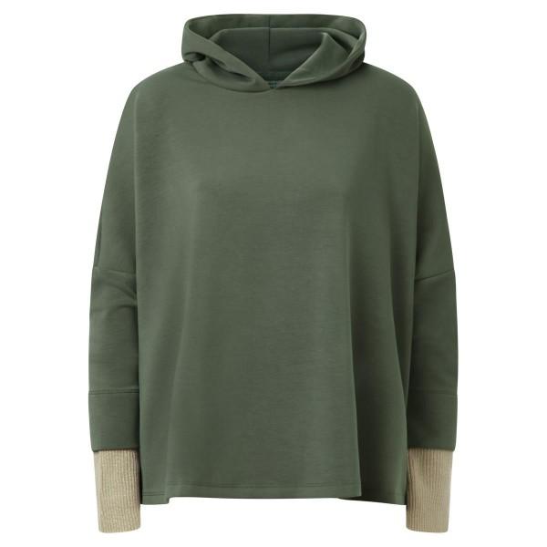 Sweatshirt - Kapuze - grün -