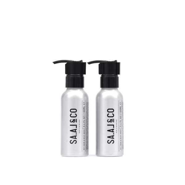 Duschmittel Haare & Körper 2x100ml | Herren