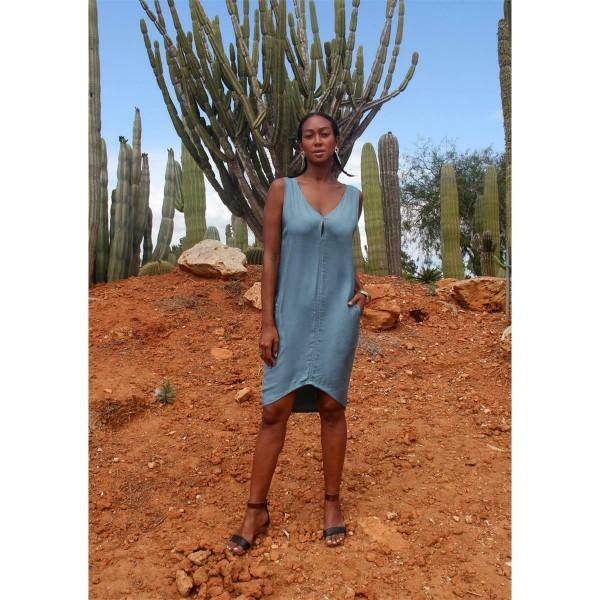Kleid Leila blue