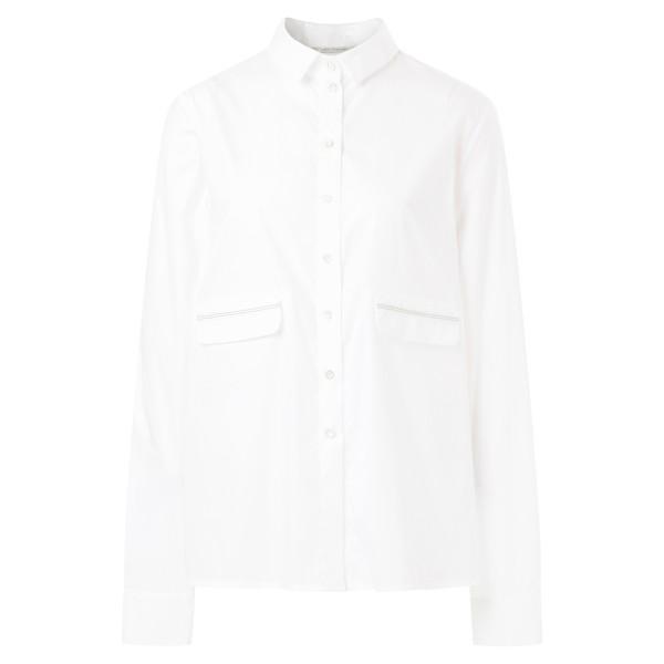 Bluse mit Ziernaht Größe S