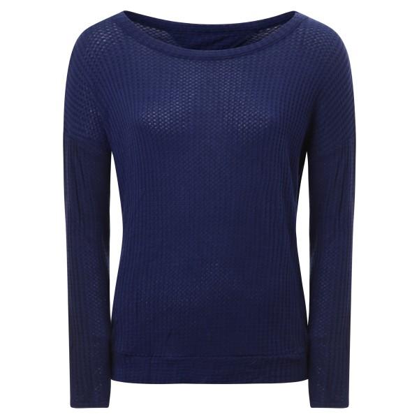 Shirt rückenfrei blau
