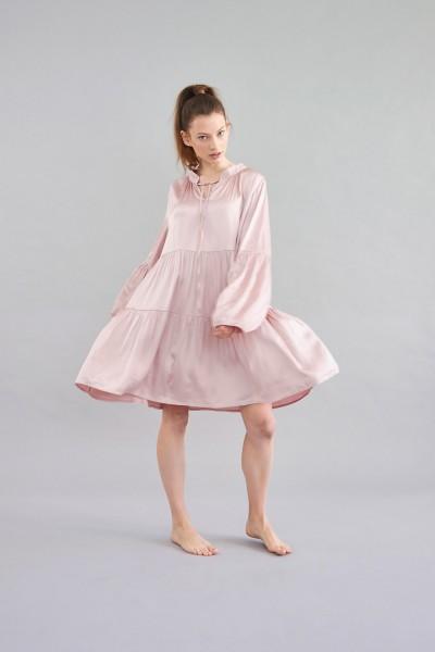 Kleid Silktouch rose