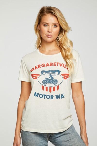 weiches Shirt mit Print creme