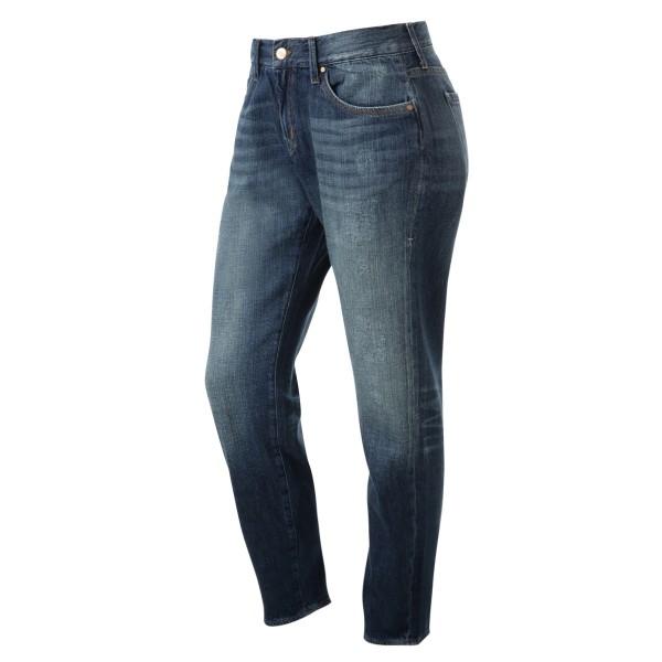 Jeans Boyfriend blau used look