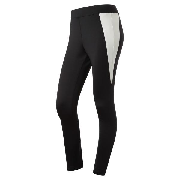 Jogginghose Leggings elastisch schwarz