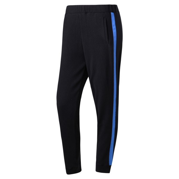 Jogginghose schwarz mit Seitenstreifen