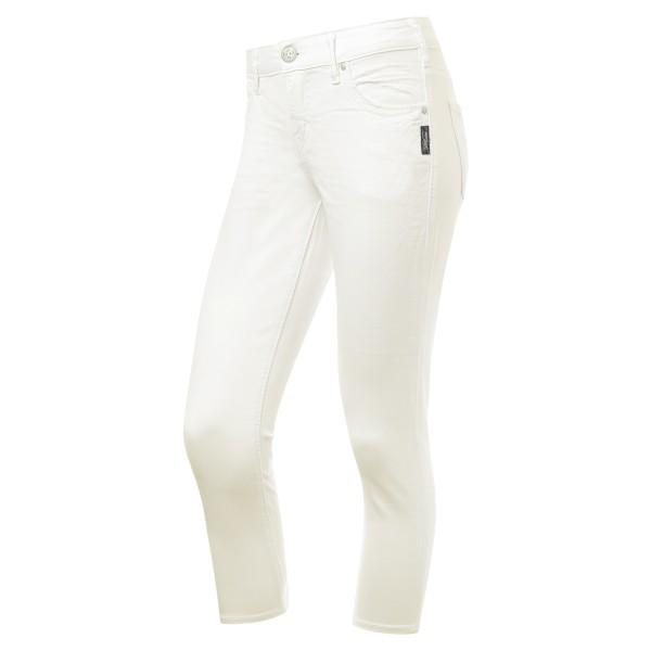 gerade used Look Jeans weiß