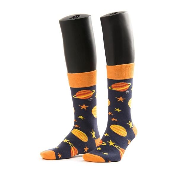 Halbhohe Socken - Solarsyerten mit saturn und venus als zentralmotive