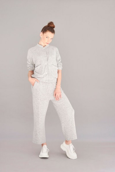Casualhose 103 grey Cashmere Touch