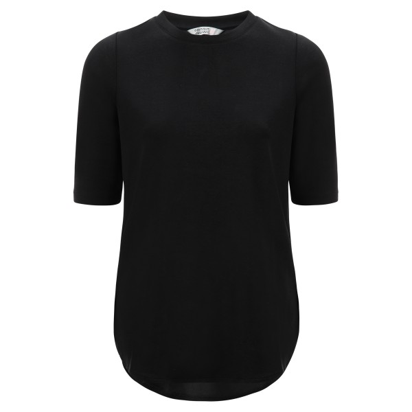 Basic Shirt black Rundhals