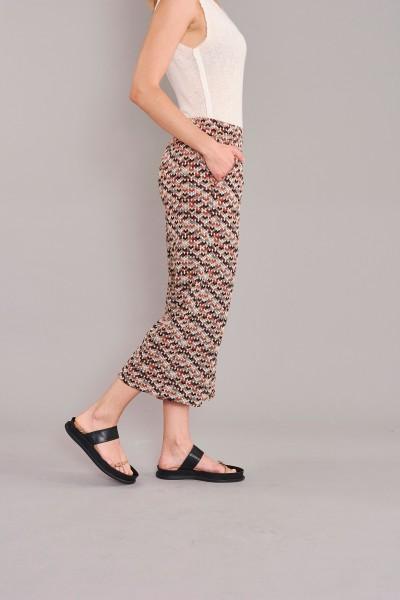 Culottehose 120 rost dots