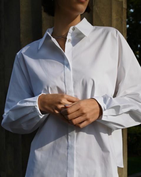 Bluse Glam white