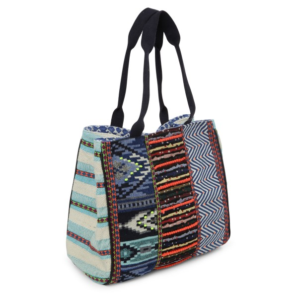 Debbie Katz Sommertasche gemustert Ethno Style