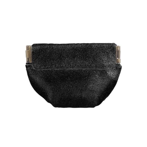 Münzbörse black - silber